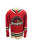 Authentic CCM Red Game Jersey