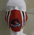IceHogs Adjustable Mask - Jersey Pattern