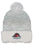 IceHogs Heathered Grey Sherpa Winter Hat