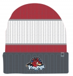 IceHogs Red White & Grey Beanie
