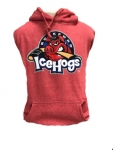 Primary Logo Hoodie Red Heather