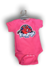 Toddler Creeper Pink Short Sleeve