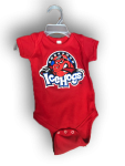 Toddler Creeper Red Short Sleeve
